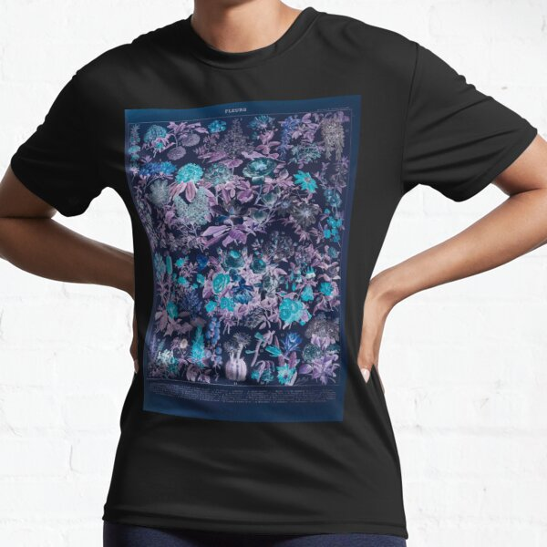Adolphe Millot fleurs C Inverted Active T-Shirt