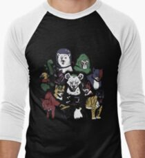 Predators of the Bat Men's Baseball ¾ T-Shirt