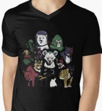 Predators of the Bat Mens V-Neck T-Shirt