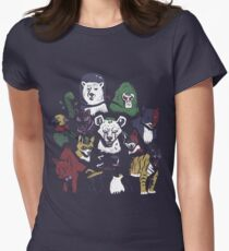 Predators of the Bat Womens Fitted T-Shirt