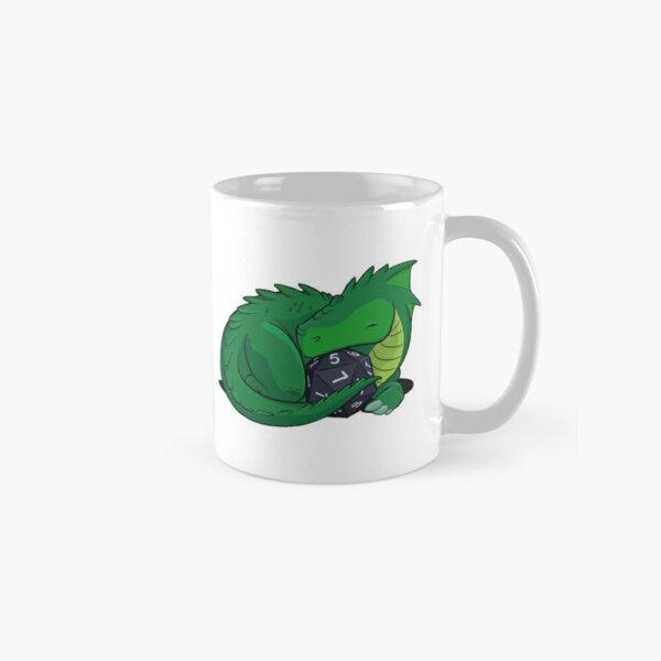 D20 Green Dragon Classic Mug