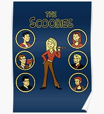 Buffy and the Scooby Gang Poster