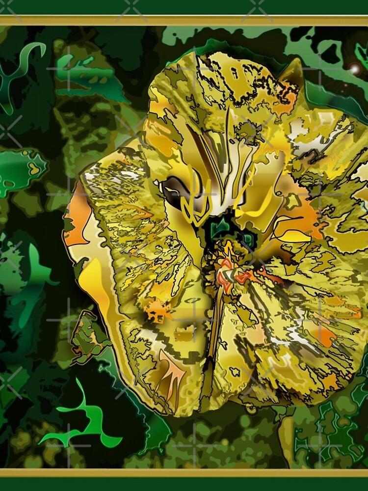Native Hibiscus by Vanwizle