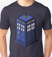 Pixel Tardis Unisex T-Shirt