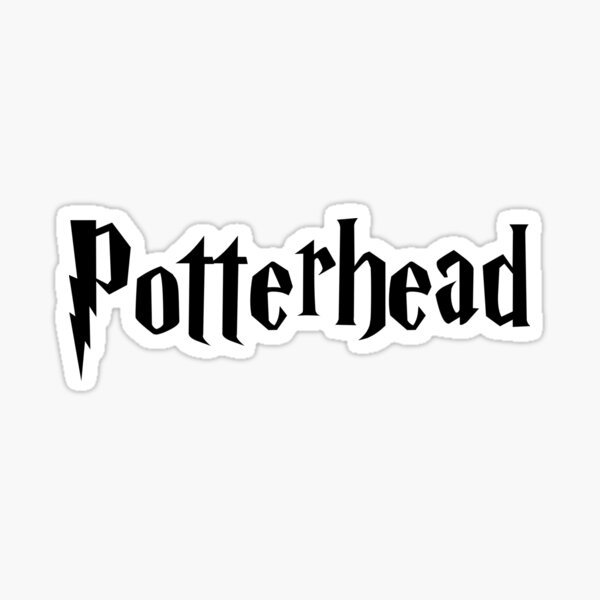 potterhead Sticker