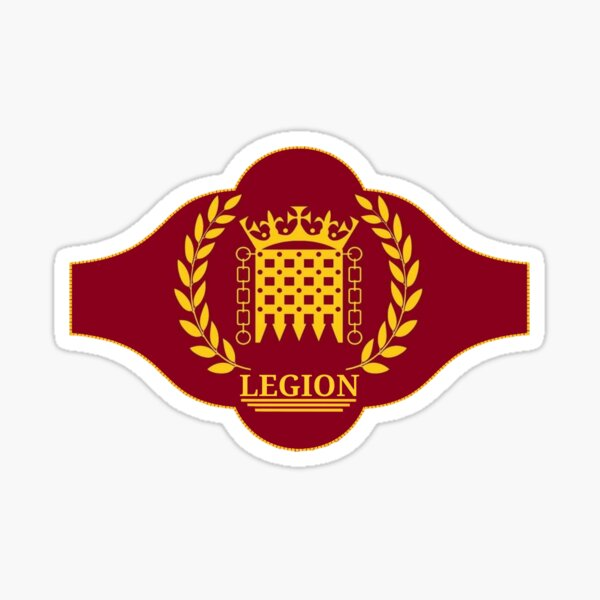 The Legion HMB Club Sticker