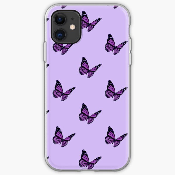 Aesthetic Purple Butterfly Iphone Case Cover By Disney4dayz Redbubble