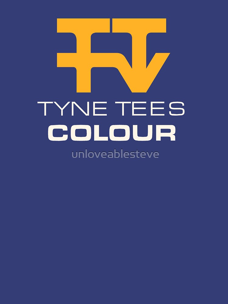 TShirtGifter presents: Tyne Tees regional ITV station logo | Unisex T-Shirt