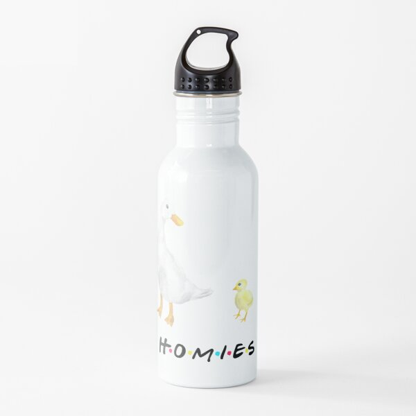 The Chick and the Duck - Homies Water Bottle