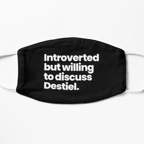 Introverted but willing to discuss Destiel - Supernatural Mask