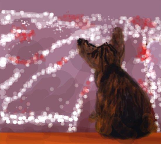 Curious Kitty by fliberjit