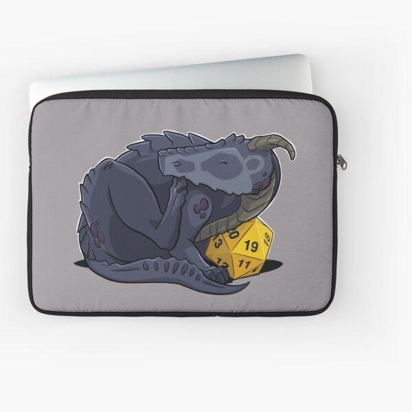 D20 Black Dragon Laptop Sleeve