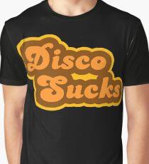 Disco Sucks - Retro 70s - Logo Graphic T-Shirt
