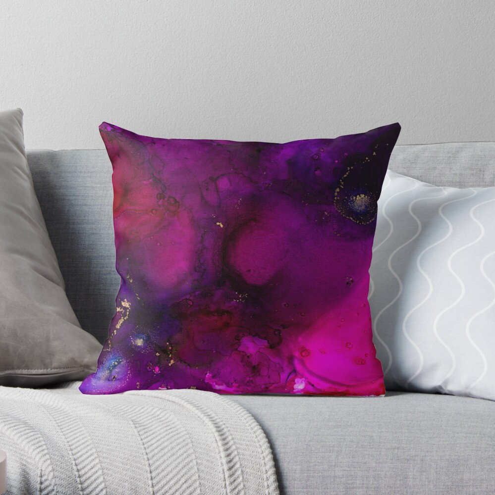 Hollow Brilliance Throw Pillow