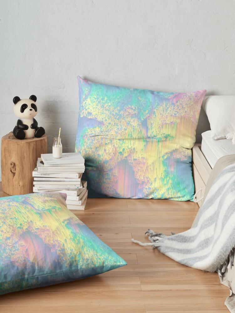 Alternate view of Remixed Nature Floor Pillow