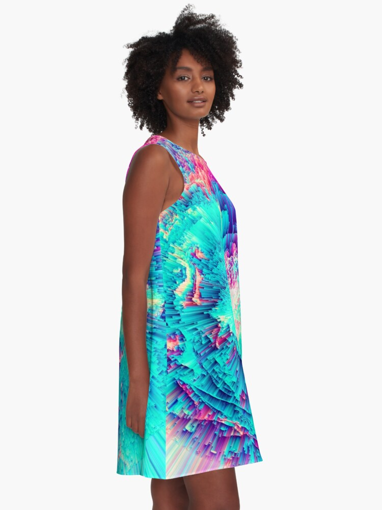 Alternate view of Perceptive Absence A-Line Dress