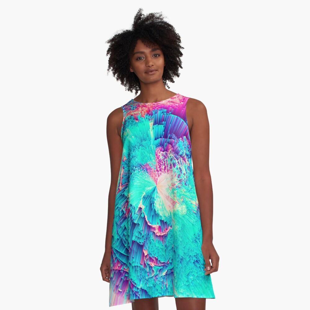 Perceptive Absence A-Line Dress