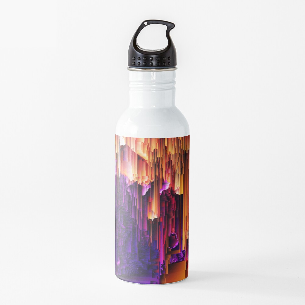 Fragmented Confusions Water Bottle