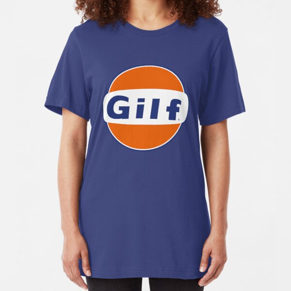 """GILF"" - Gulf Gas Parody - Grandmother I Would Like to F&@K Slim Fit T-Shirt"