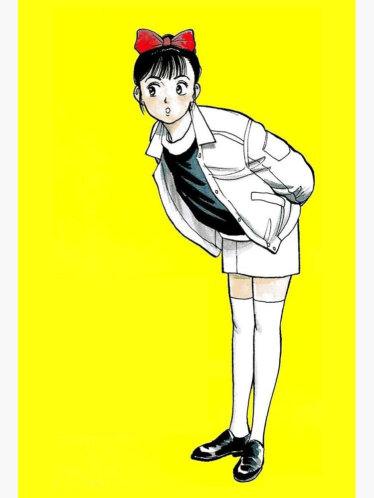 Aesthetic Yellow Anime Girl Art Board Print By Kamerdra Redbubble