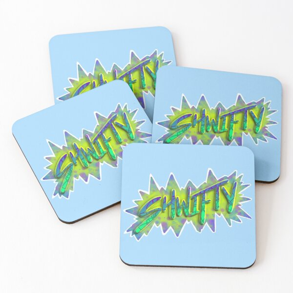 Shwifty — Bubbles Coasters (Set of 4)