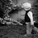 Gabe in the garden by fourthangel