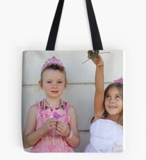 The two little princesses Tote Bag