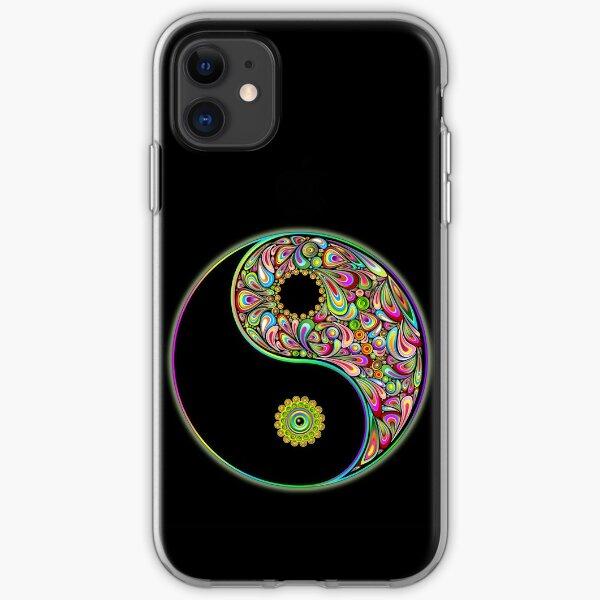Yin Yang Symbol Psychedelic Art Design iPhone Soft Case