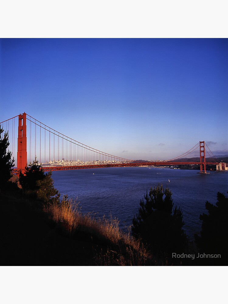 Golden Gate Bridge From Battery Wagner by rodneyj46