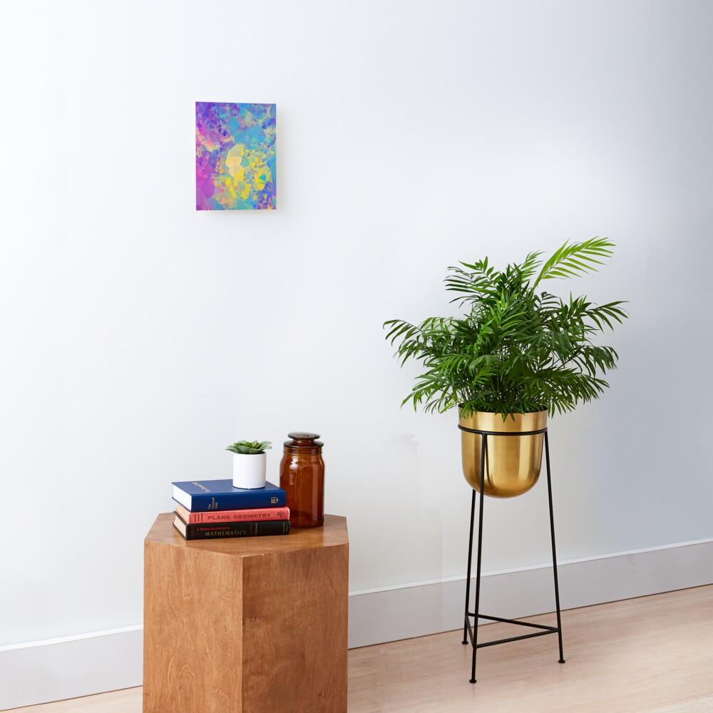 Polystone - Digital Abstract Mounted Print