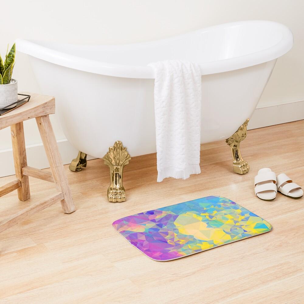 Polystone - Digital Abstract Bath Mat