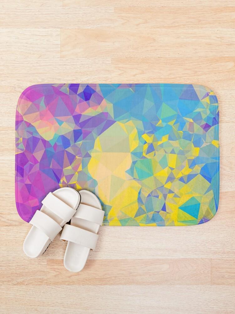 Alternate view of Polystone - Digital Abstract Bath Mat