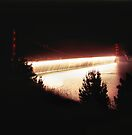 Golden Gate Bridge From Battery Wagner by Rodney Johnson