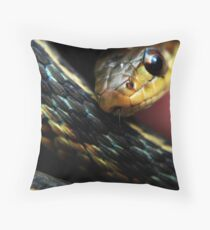Gardiner Snake Throw Pillow
