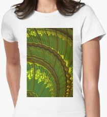 Celtic Harp Abstract Women's Fitted T-Shirt