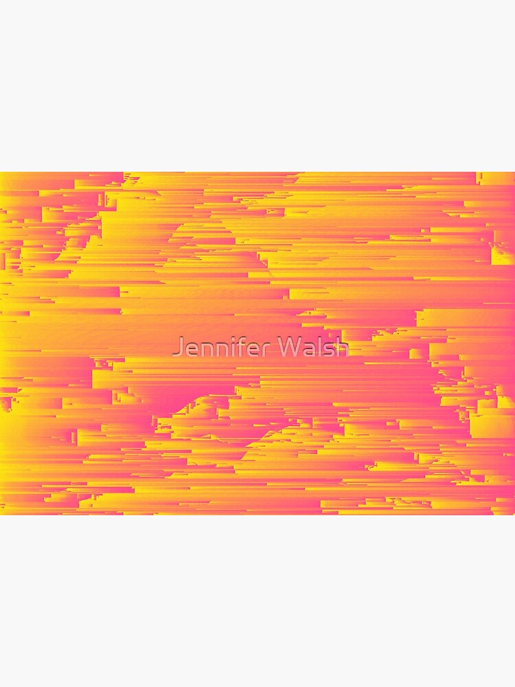 Miami Speed - Abstract Pixel Art by InsertTitleHere