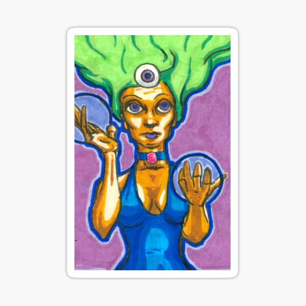 Third Eye Seer Sticker
