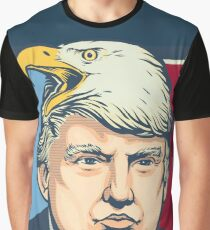 We Shall Overcomb Donald Trump Graphic T-Shirt