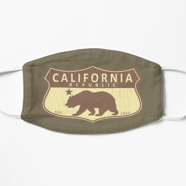 California Republic (vintage park style) Mask