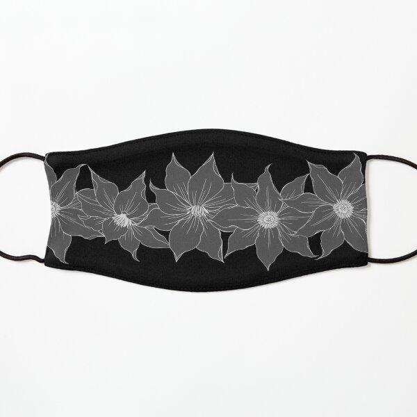 """Black flowers"" mask 086 Kids Mask"