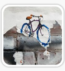 Paper Bicycle Sticker