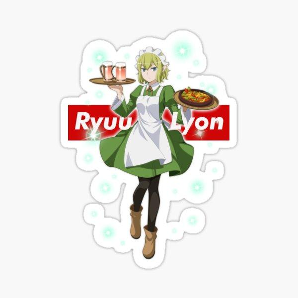 Ryuu Lyon - Danmachi Sticker