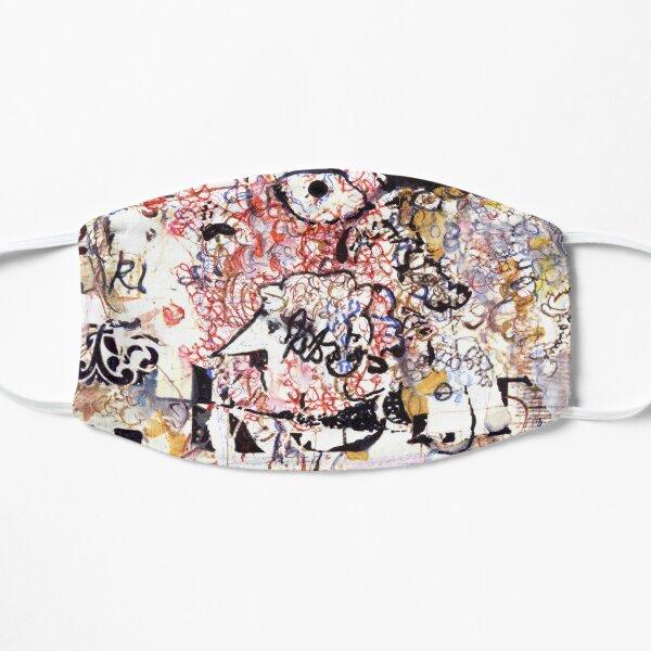 Kurt Vonnegut Portrait Flat Mask