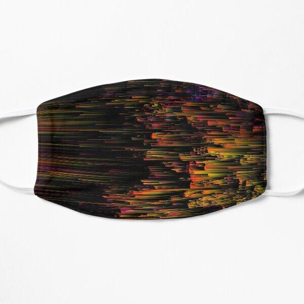 Rainbow Light Speed - Abstract Glitchy Pixel Art Mask