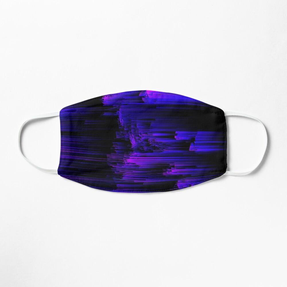 Ultraviolet Light Speed - Abstract Glitch Pixel Art Mask