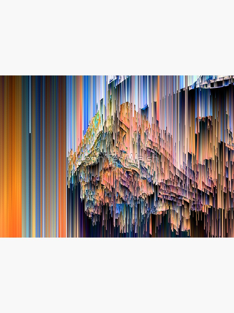 Weird Glitches - Abstract Pixel Art by InsertTitleHere