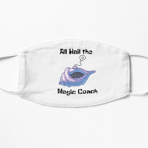 All Hail the Magic Conch Sticker Mask