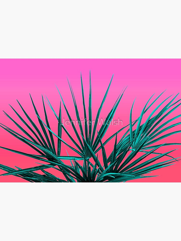 Pink Palm Life - Miami Vaporwave by InsertTitleHere