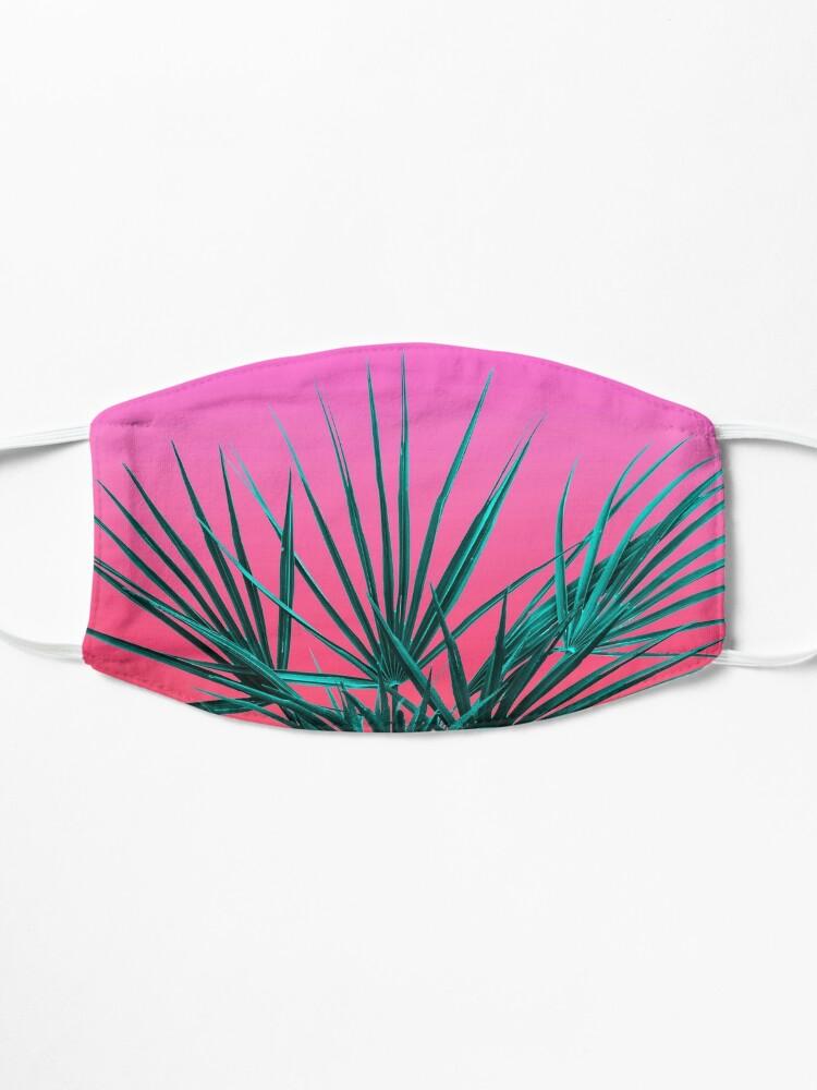 Alternate view of Pink Palm Life - Miami Vaporwave Mask
