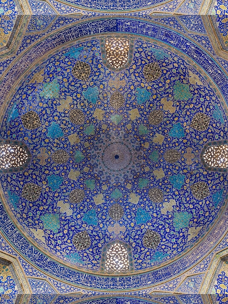 Shah Mosque, Isfahan, Iran by artboy213